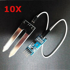 10Pcs Soil Hygrometer Humidity Detection Moisture Sensor For Arduino