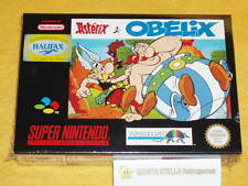 ASTERIX e OBELIX Super Nintendo PAL version NUOVO NEW NUEVO NEUF NEU SNES & RARE