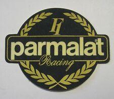 ADESIVO AUTO F1 anni '80 / Old Sticker F1 RACING PARMALAT (cm 10 x 8)