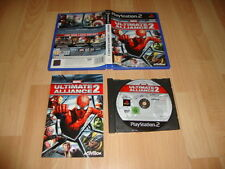 MARVEL ULTIMATE ALLIANCE 2 RPG DE ACTIVISION PARA LA SONY PS2 USADO COMPLETO