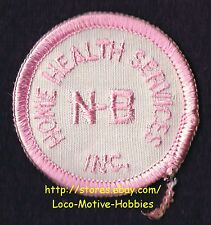 LMH PATCH Badge  N-B Inc. HOME HEALTH SERVICES Care Deaf Blind Medical CANADA 2""