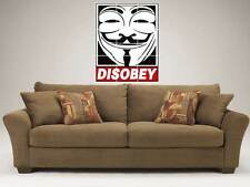 "DISOBEY LARGE MOSAIC 35""X25"" WALL POSTER V FOR VENDETTA"