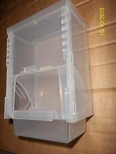 1KG SEED HOPPER FOR CAGE & AVIARY BIRDS