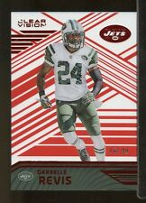 CR29) 2016 Panini Clear Vision #50 DARRELLE REVIS New York Jets 16/49