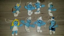 8 McDonalds The Smurfs Plush Soft Toy Figure Collection TV Film Peyo Characters