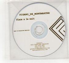 (GV388) Figaro De Montmartre, Place A La Nuit, 15 Tracks - DJ CD