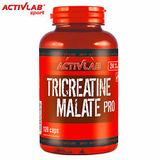 Activlab Tri-Creatine Malate 120 Capsules Muscle Growth Bodybuilding Anabolic