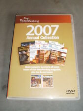 Fine Woodworking 2007 Annual Collection DVD - ROM All 7 issues plus two bonus