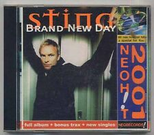 STING Brand New Day + 4 bonus + video - Ukraine edition CD a195