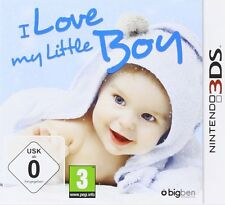 Nintendo 3DS Gioco I love My Little Boy 2DS compatibile nuovo