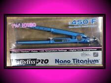 "BAD BOX / BABYLISS PRO NANO TITANIUM 450° LED 1 3/4"" HAIR STRAIGHTENER FLAT IRON"