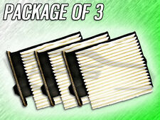C25877 CABIN AIR FILTER FOR 2011 2012 2013 2014 NISSAN VERSA - PACKAGE OF THREE