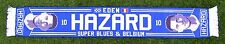 EDEN HAZARD CHELSEA AND BELGIUM FOOTBALL SCARF