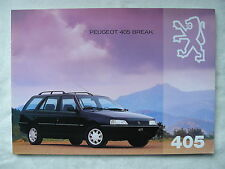 Peugeot 405 Break - Prospekt Brochure 1993?
