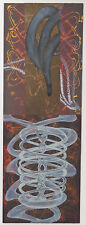 """Steven Sorman """"Step Away - 9th Time"""" Abstract Mixed Media L/E Lithograph"""