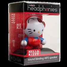 "Mobi Headphonies Hello Kitty Rechagable 3"" Hi-Fi Amplified MP3 Speaker 70220"