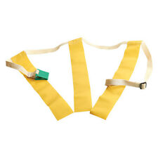 "Triple Threat Flag Football Belts - Yellow LRG 30"" - 44"""