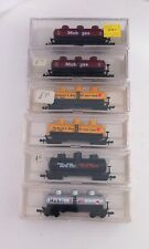 Model-Power US-Kesselwagen-Set 6-tlg. Tank Car with 3 Dome Spur N N-Scale