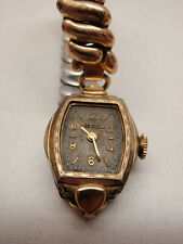 Vintage Wristwatch Westfield Bergevine Womens 12kt Gold Plate Repair Parts 1940s