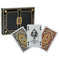 Kem-Poker size Deck (2-deck set) - 4 pipspoker naipes