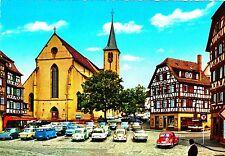 Mosbach , Marktplatz, Ansichtskarte, ungelaufen