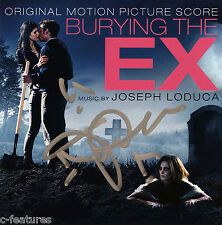BURYING THE EX Joseph LoDuca CD AUTOGRAPHED Signed SCORE SOUNDTRACK Lakeshore