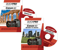 QUICKPro Training DVD Canon EOS 6D Set - NEW  Free US Shipping