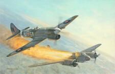 """Death at Daybreak"" Roy Grinnell WW II Aviation Giclee Print or Canvas - Tempest"