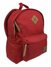 NEW DICKIES CLASSIC CANVAS BACKPACK / BOOK BAG AUTHENTIC - SCARLET RED - $60