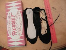 Vintage Herbet Dancewear New York Ballet Shoes Slippers Black Size 4 1/2