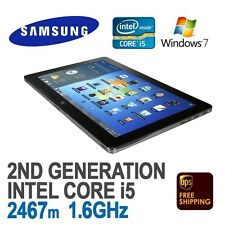 Samsung Series 7 Tablet Black XE700T1A i5 4GB 128GB SSD 11'6in Win 7 Pro