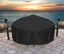 """Heavy Duty 36"""" Black Round Fire Pit Cover Fire Pit Covers Firepit Cover Fire Pit"""