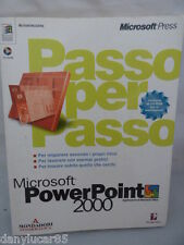 AutoIstruzione PowerPoint 2000 Windows NT, 98 App di Microsoft Press Office