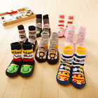 Kids Toddler Baby Design Anti-slip Sock Shoes Boots Slipper Socks 0-24 Months