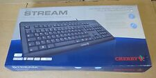 Cherry Evolution Stream Wired Keyboard USB QWERTZ G85-23000DE-2 German