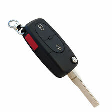 Flip Key Remote Shell Case for Audi A6 1997-2001, S6 S8 2001-2003, TT 2000-2002