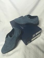 Joseph Abboud  KELVIN  OXFORD Wing Tip Suede DRESS Shoes-LIGHT BLUE 8.5