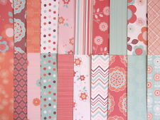 "Sample pack - More or Less 10 sheets 2-sided 12x12"" scrapbook backing papers"