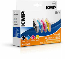 KMP Vorteilspack B9V Brother LC-1000 DCP 130 MFC 240 LC-1000BK LC-1000C LC-1000M