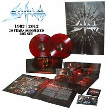 SODOM 30 Years Sodomized 1982-2012 * SEALED BOX 3CD+ COLOR 2LP limited to 300