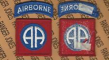 US Army 82nd Airborne Division uniform patch m/e