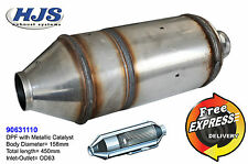 HJS Universal DPF Diesel Particulate Filter with extra Catalytic Converter Euro4