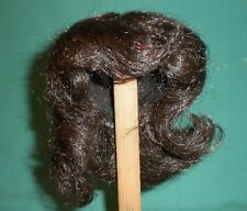 "doll wig dark brown 9"" to 9.5"" short hair with curls"