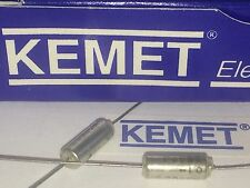 KEMET BEST QUALITY SOLID TANTALUM AXIAL CAPACITOR 100uF  20V             fbb33.8