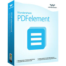 Wondershare PDFelement ohne OCR  WIN lifetime Vollvers. ESD Download nur 29,99 !