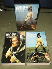 War and Peace Leo Tolstoy Penguin Classics 2 Volume Boxed Set  1973