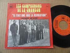 """45T THEME DU FILM"""" IL ETAIT UNE FOIS LA REVOLUTION """"LES COMPAGNONS DE LA CHANSON"""