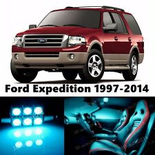 16pcs LED ICE Blue Light Interior Package Kit for Ford Expedition 1997-2014