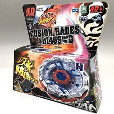 Fusion Hades Beyblade + Launcher BB-123 (AKA Firefuse Darkhelm) - USA SELLER
