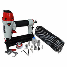 PowRyte Pneumatic Air Nailer & Stapler 2 in 1, 18 Gauge with 12pc Starter Kit